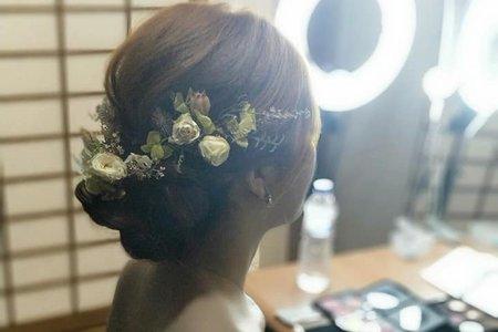 Mavis韓風甜美新娘造型
