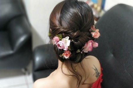 台中新娘試妝造型