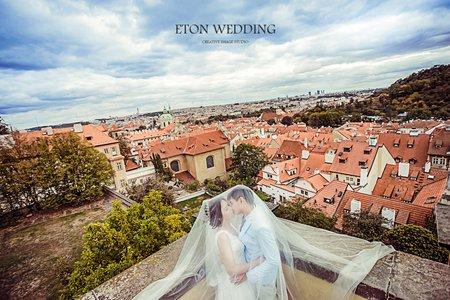 【海外旅拍婚紗✈】布拉格Prague, Czech-伊頓自助婚紗推薦