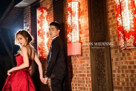 【新春拍婚紗必穿】大紅大紫禮服系列👗-伊頓自助婚紗攝影工作室