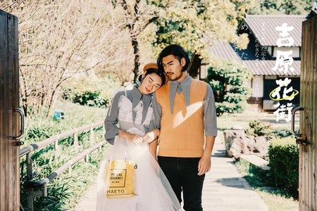 💗日式浪漫,清新自然💗伊頓自助婚紗推薦