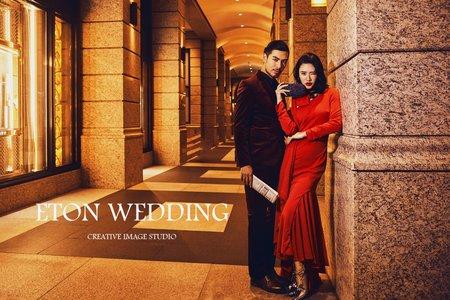 ⭐101時尚夜景⭐-台北婚紗照精選-伊頓自助婚紗推薦