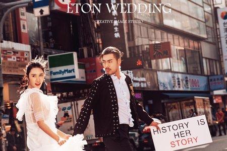 ► 西門町,瘋街拍 ◀ 婚紗攝影時尚街拍 - 伊頓自助婚紗