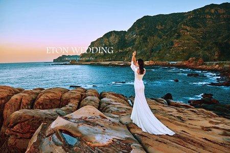 😍妳的美 勝過自然😍 南雅奇岩海岸婚紗-台北伊頓婚紗推薦