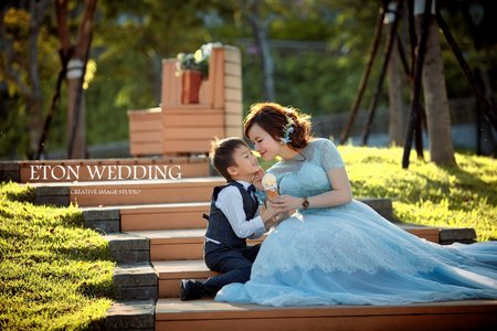 💕我與我的前世情人💕台北伊頓獨家親子寫真特輯