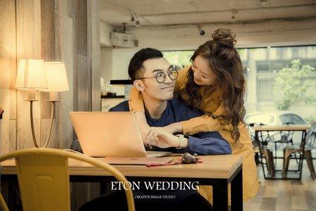 愛的定情地-CROSS CAFE-伊頓自助婚紗推薦