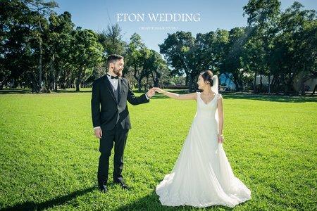 美國Diana&John客照分享-伊頓台北婚紗推薦💕
