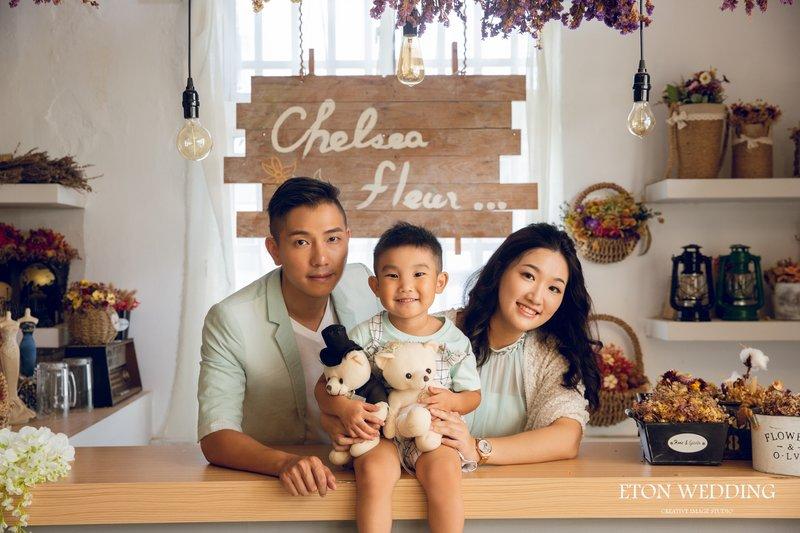 台北親子寫真,全家福照,親子照推薦