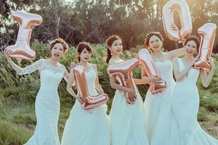 【團體閨蜜婚紗】台北閨蜜婚紗寫真