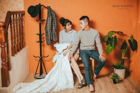 棚拍婚紗精選💗-台北伊頓婚紗推薦