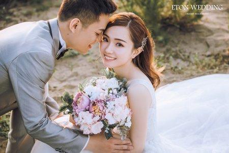❤絕美婚紗攝影-台北婚紗-伊頓自助婚紗推薦❤
