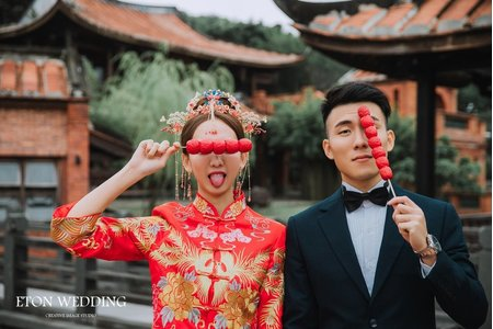 ❤️中式婚紗攝影推薦-伊頓自助婚紗推薦❤️