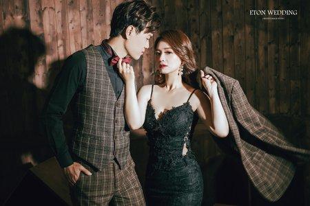 黑色禮服推薦-伊頓自助婚紗