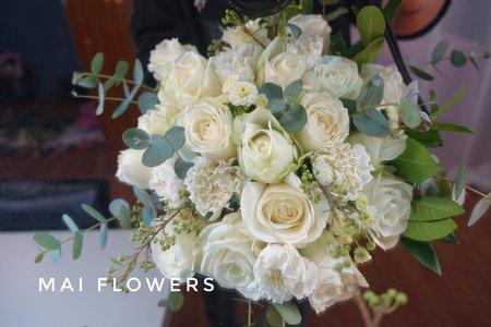 鮮花新娘捧花