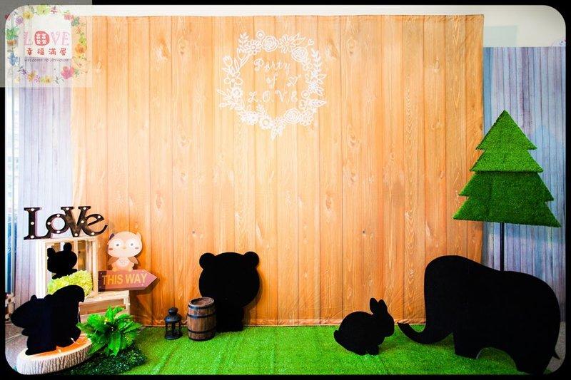 第9號傘板-可愛森林風