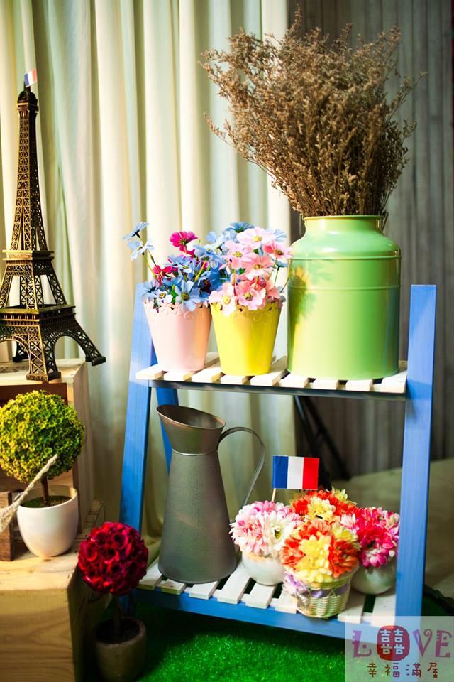 第一號布幔-巴黎小花店