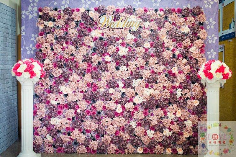 第19號硬式背板-花牆粉紫款