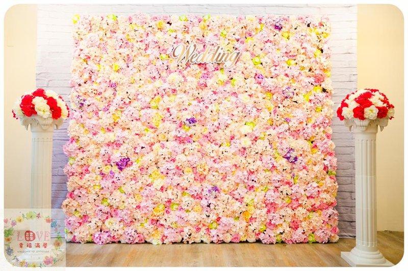 第20號硬式背板-花牆粉綠白款