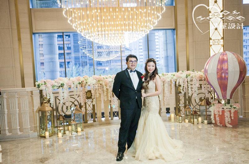 滿屋設計全客製婚禮佈置- 大直美福飯店