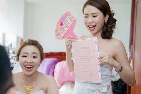 |婚禮紀實|迎娶&宴客|富苑喜宴會館