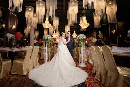 婚禮紀實|迎娶&宴客|富苑喜宴會館