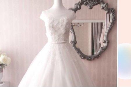 婚紗髮型搭配