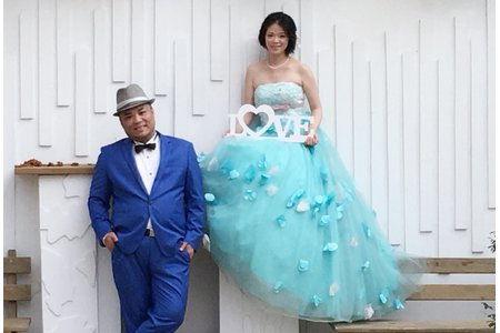 Jimmy&怡芳婚紗外拍