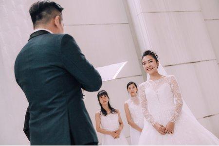 Reiki Photo女婚攝|證婚晚宴 - 新莊晶宴會館