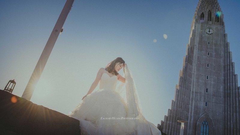 自主自助婚紗純攝影作品