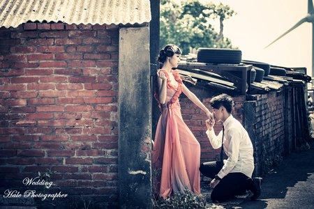 婚紗拍攝-綠