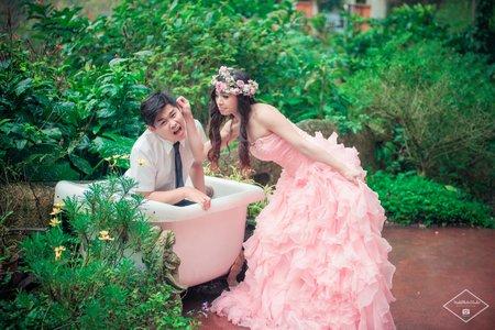 婚紗拍攝-只想賴著你