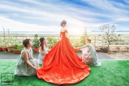 婚攝.婚禮紀錄 | Wang + Li|青青食尚花園會館