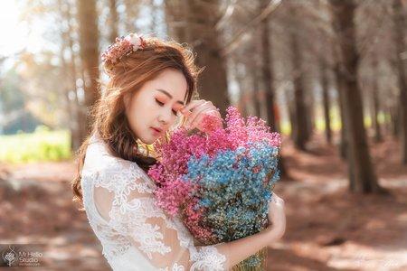 寫真.風格婚紗 | ABBY |落羽松