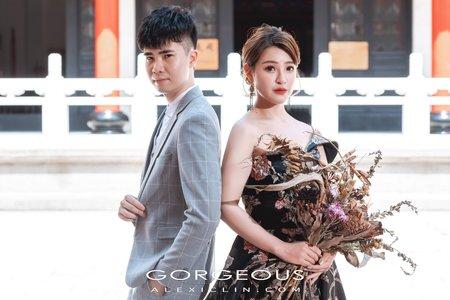 自助.風格婚紗 |Deng + Bibi|孔廟, 落羽松