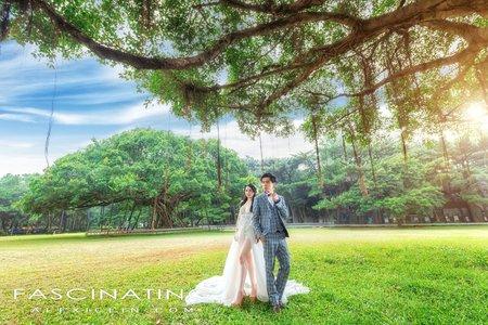 自助.風格婚紗 |Lai + Aiyu|水牛坑、中央大學