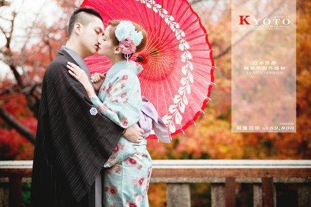 海外婚紗 │ 京都楓葉季婚紗