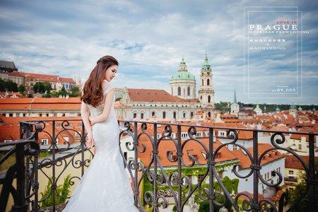 海外婚紗 │ 金色之城布拉格