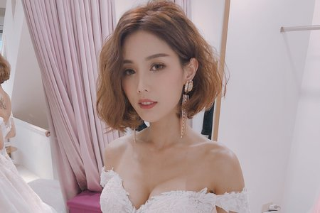 Lady.M化妝時間_八月婚紗創作側拍
