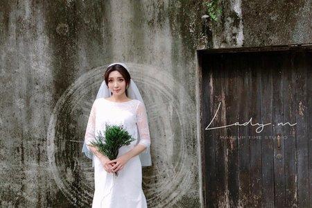 文青風婚紗造型