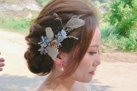 10/26婚紗照_妝髮側拍
