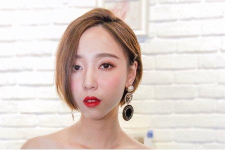 Lady.M化妝時間_短髮帥氣新娘造型