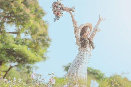 Lady.M化妝時間_春天的小碎花