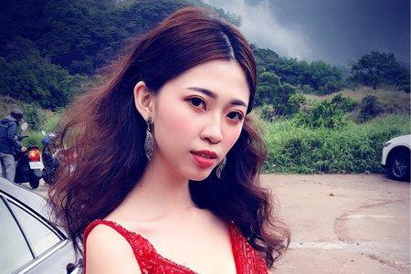 Lady.M化妝時間_帥氣的紅色晚禮服