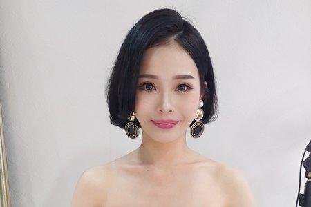 Lady.M化妝時間_短髮造型