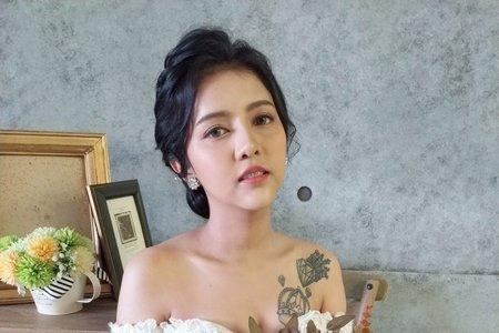 Lady.M_化妝時間_混血兒芭比妝感