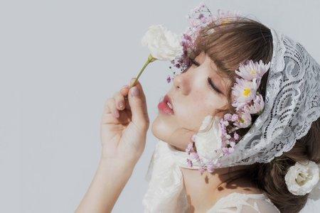 Lady.M化妝時間_斑比雀斑與花兒