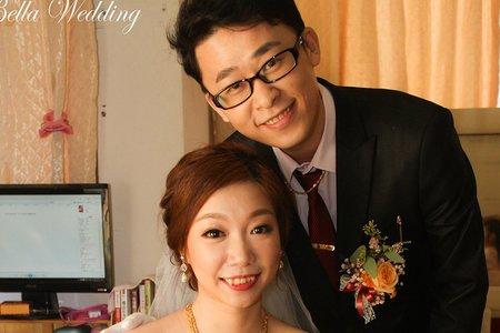 結婚白紗造型