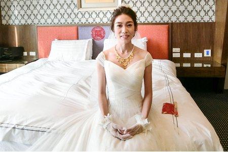 氣質新娘結婚造型