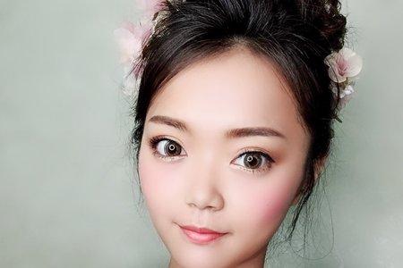 日系花苞髮型
