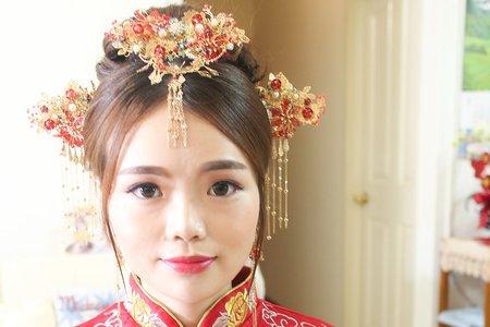 中國風新娘造型